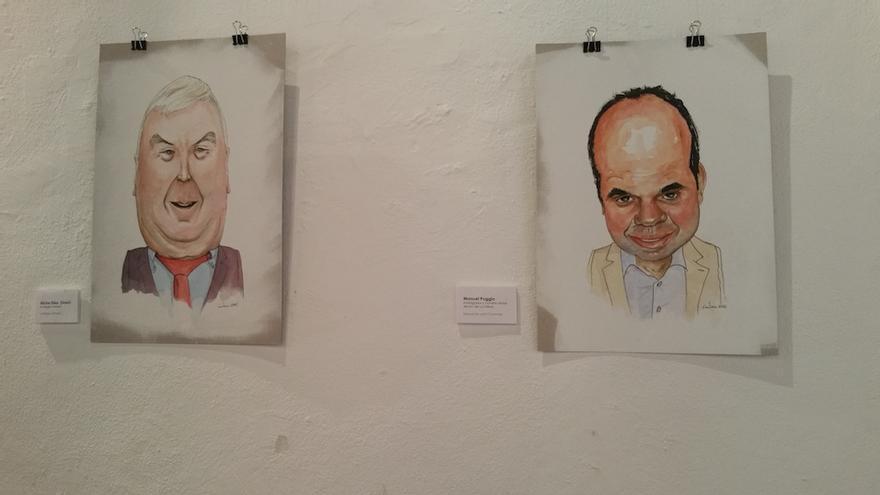 Sosó ('La Negra Tomasa') y Manuel Poggio. Foto: LUZ RODRÍGUEZ.