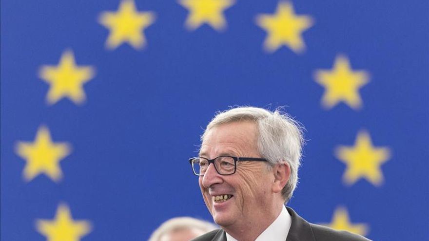 El presidente de la Comisión Europea, Jean-Claude Juncker. EFE