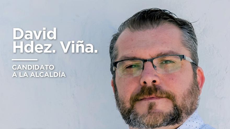 Jesús David Hernández Viña, candidato de Podemos a la Alcaldía de Breña Baja.