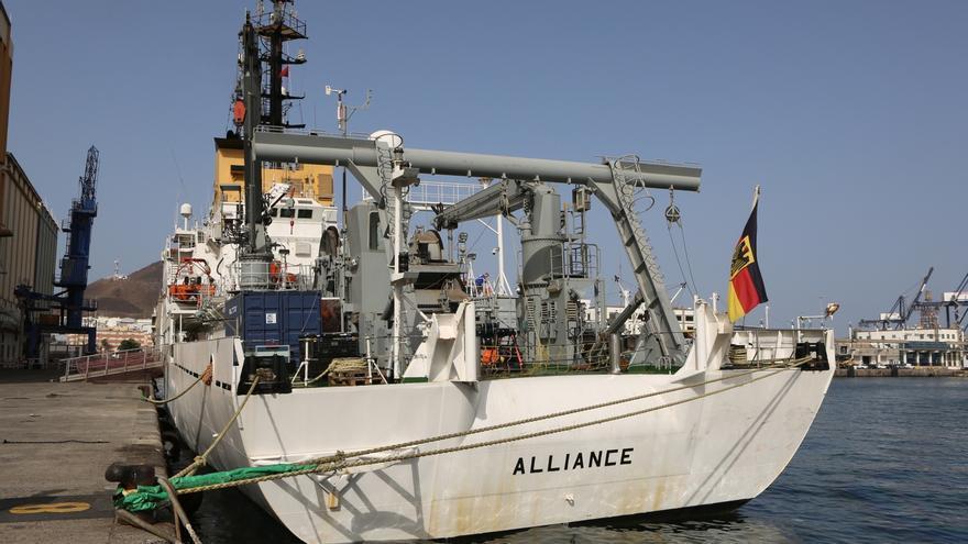 Buque 'Alliance' (ALEJANDRO RAMOS)