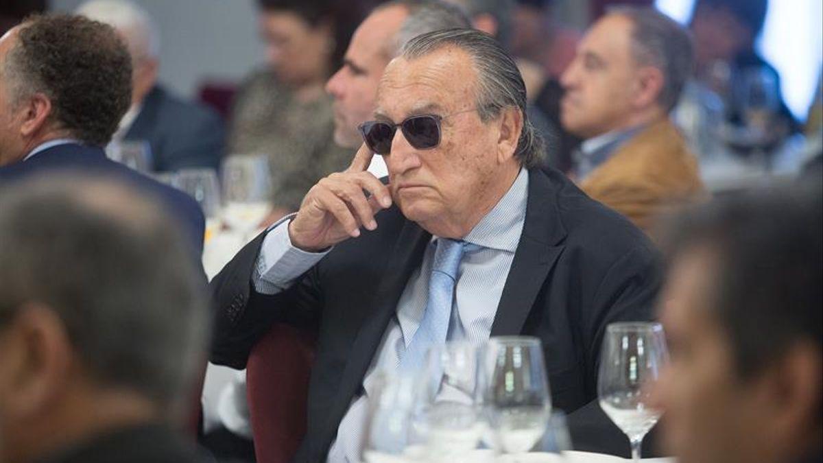 El expresidente de la Diputación de Castellón Carlos Fabra en un acto del Partido Popular.