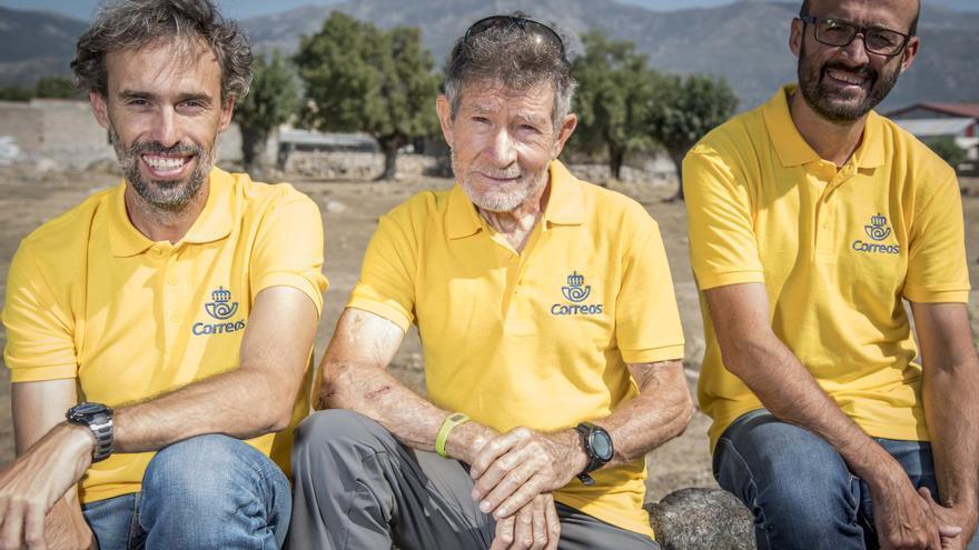 De izquierda a derecha: Sito Carcavilla, Carlos Soria y Luis Miguel López.