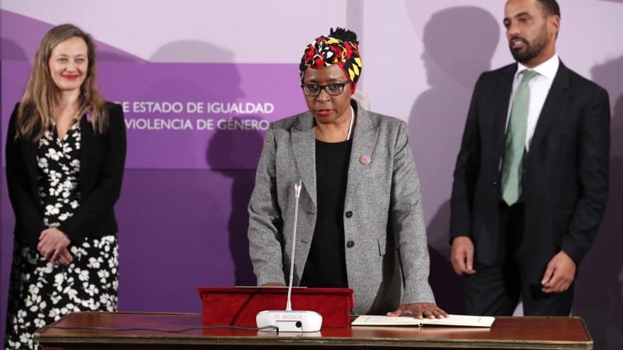 El equipo de Igualdad promete construir un país feminista al tomar posesión