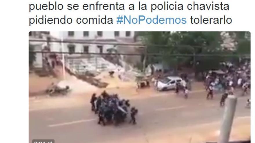 El PP utiliza imágenes del Congo para criticar a Podemos por las políticas de Venezuela