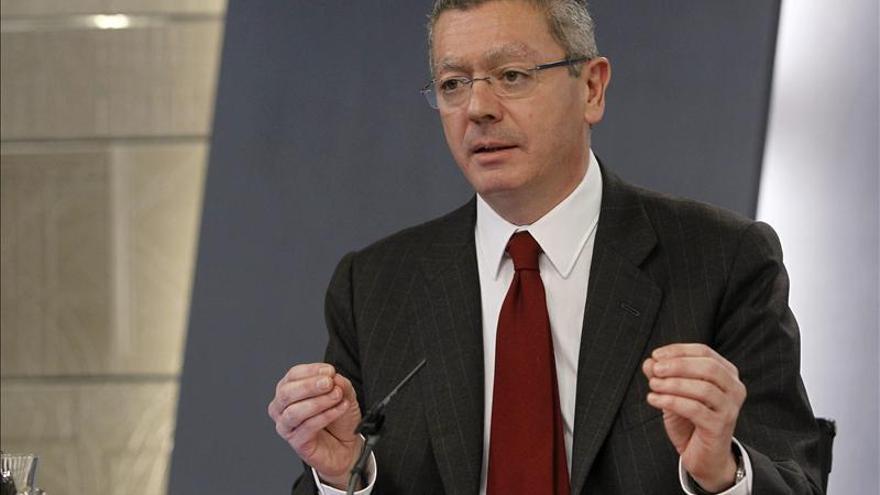Gallardón asegura que no habrá indultos para condenados por terrorismo