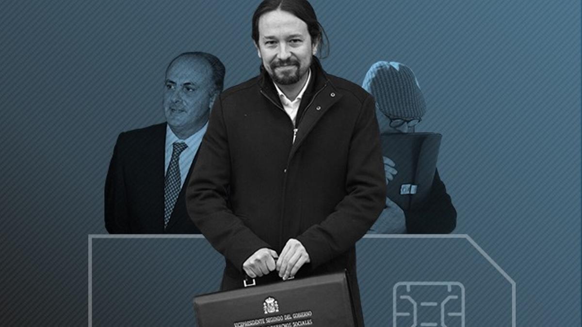 Pablo Iglesias pasa de perjudicado a sospechoso en una pieza del caso Villarejo que instruye el juez García-Castellón