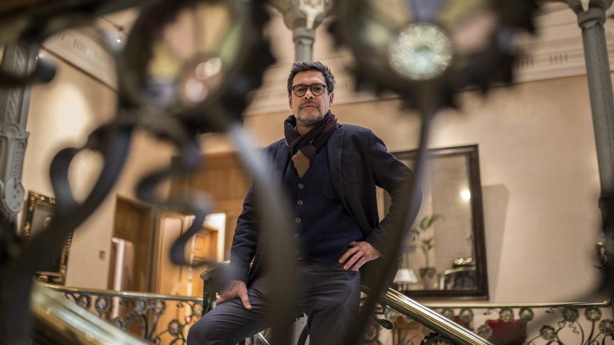 El presidente de la SGAE, José Ángel Hevia