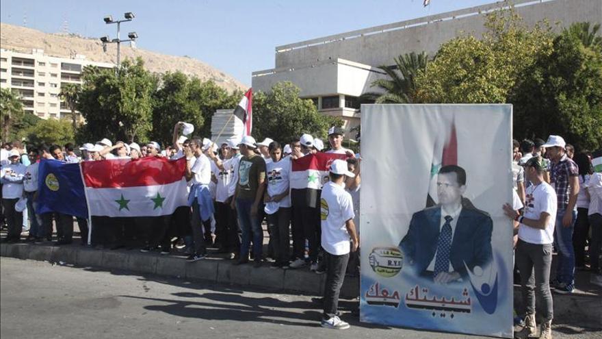 El régimen sirio rechaza que Al Asad no tenga un papel en una eventual etapa transitoria