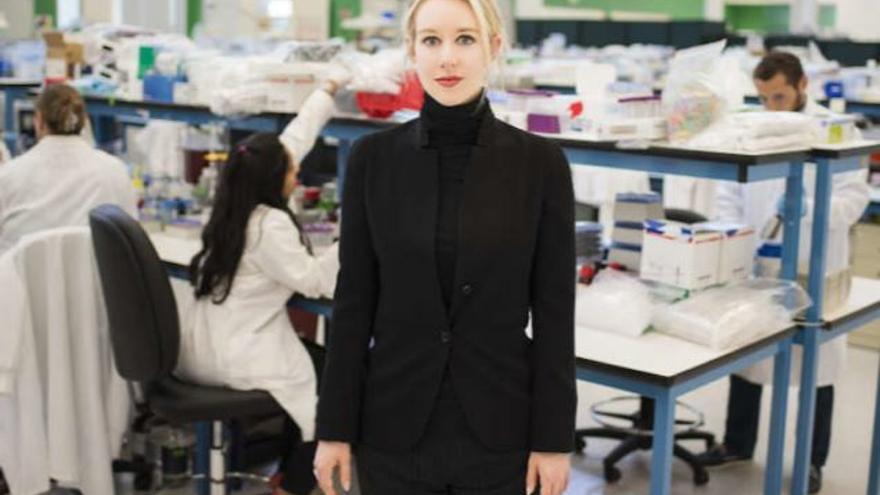Holmes en el laboratorio