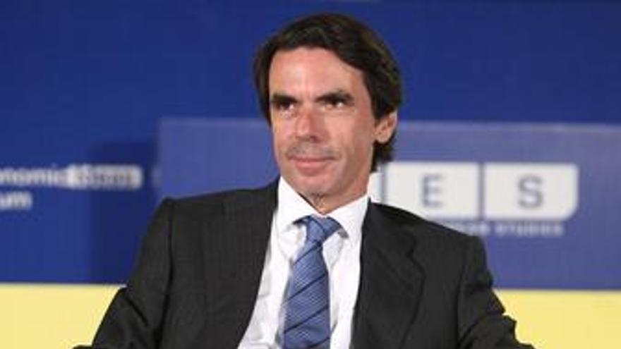 José María Aznar. (EUROPA PRESS)