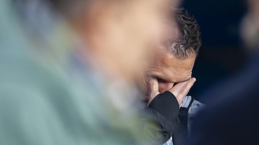 Rubén Baraja quiere conseguir su primer triunfo como entrenador del CD Tenerife.