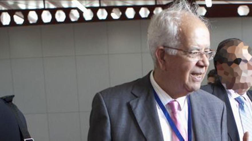 Luis Hernández, expresidente de la Autoridad Portuaria de Las Palmas.