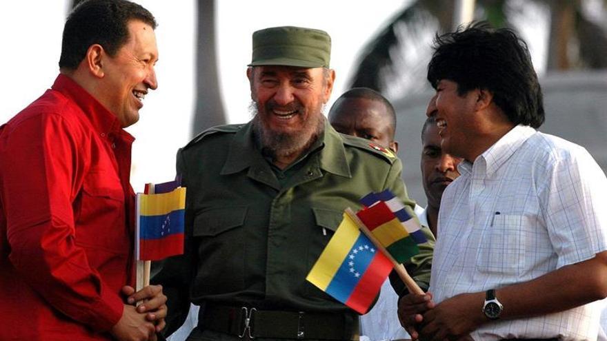 Evo Morales afirma ante los cocaleros que luchará con más fuerza contra EE.UU.