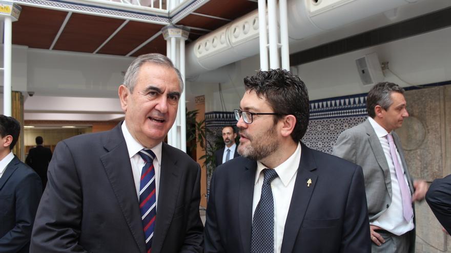 González Tovar (PSOE) y Miguel Sánchez (C's) / PSS