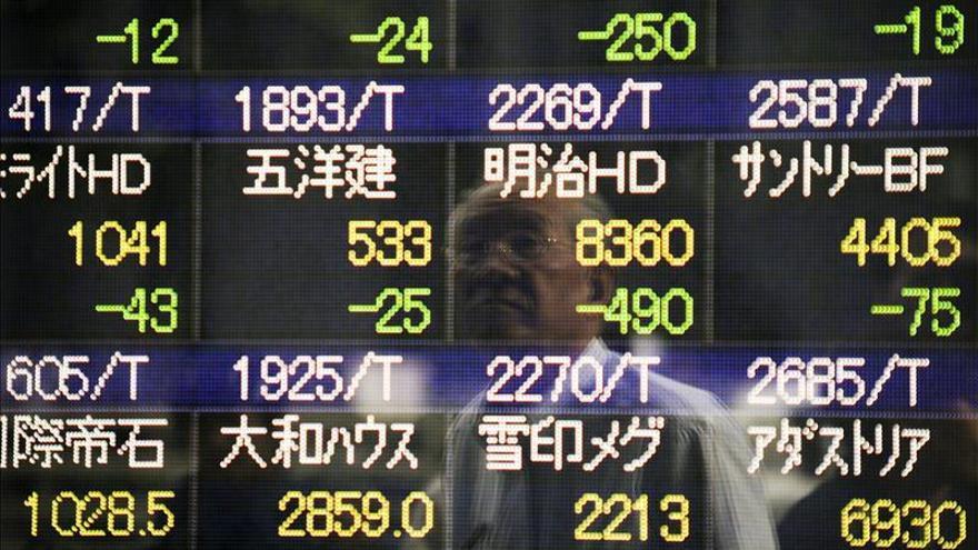 El Nikkei cae un 1,26 por ciento hasta los 18.842 puntos