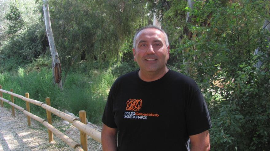 Antonio Prieto, presidente del Colegio de Geógrafos de España