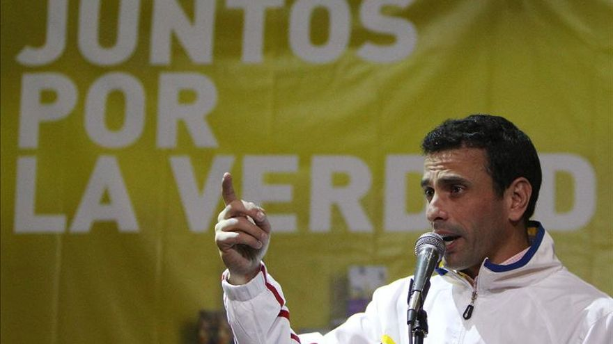 """Capriles pide a los colombianos """"no dejarse chantajear"""" por el Gobierno venezolano"""