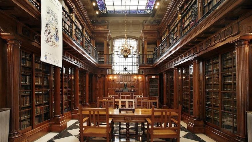 Restaurar las vidrieras de la Biblioteca Menéndez Pelayo costará 166.300 euros