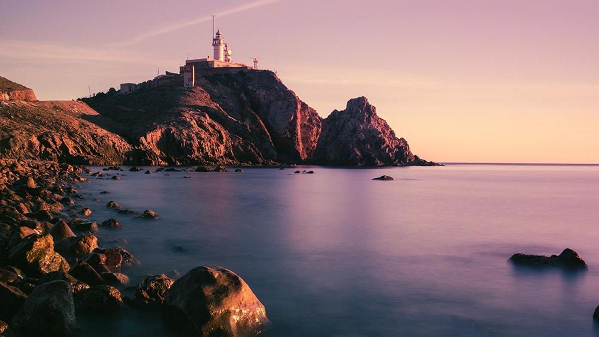 El faro de Cabo de Gata, en Almería.