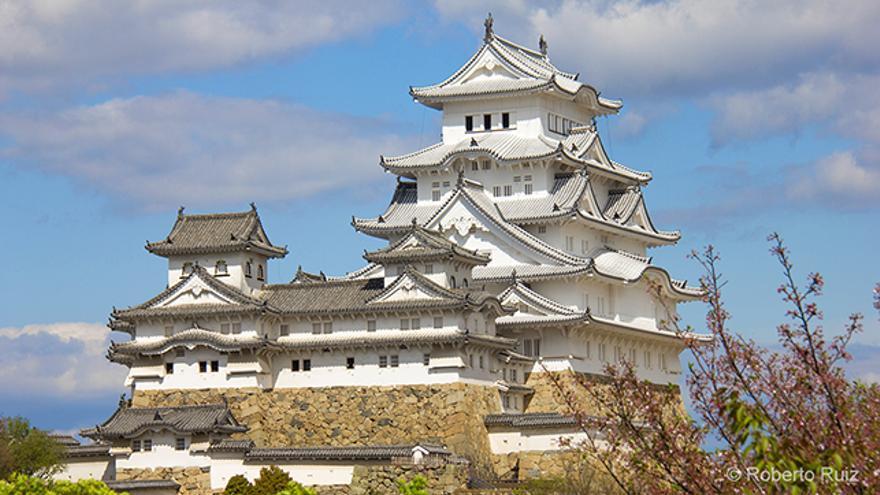 El Castillo de Himeji en Japón
