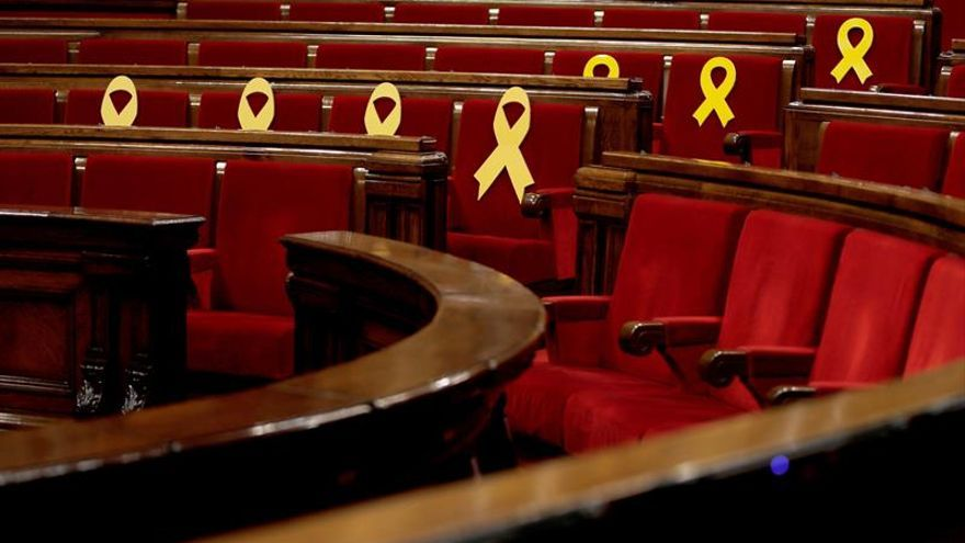 El Parlament reanudará el martes el pleno suspendido