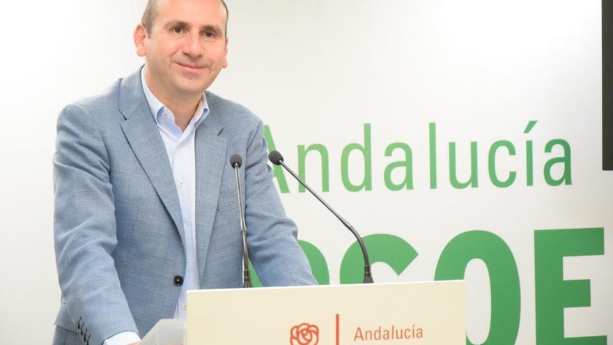 """El PSOE-A pregunta a Podemos y PP-A si van a """"consumar su pinza"""" y presentar una moción de censura en Andalucía"""