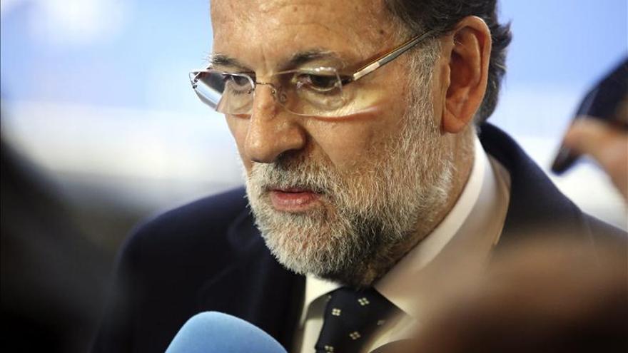 El presidente del Gobierno, Mariano Rajoy. / Efe