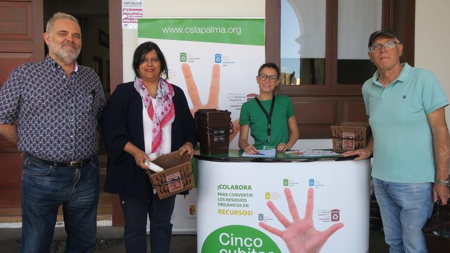 Presentación de la campaña en Tazacorte.