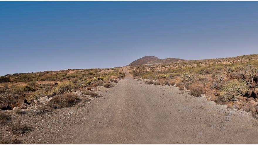 Espacio donde se prevé ubicar el circuito del motor en Tenerife