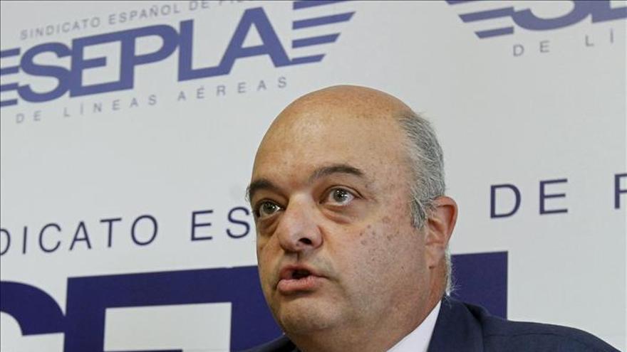 Martínez de Velasco, reelegido presidente del sindicato de pilotos SEPLA
