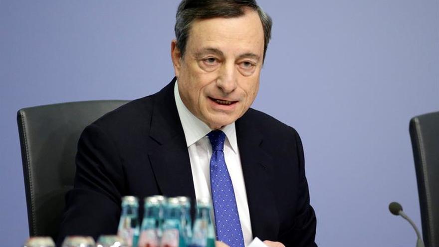 El BCE prevé que la inflación podría caer por debajo del 1% a principios de 2018