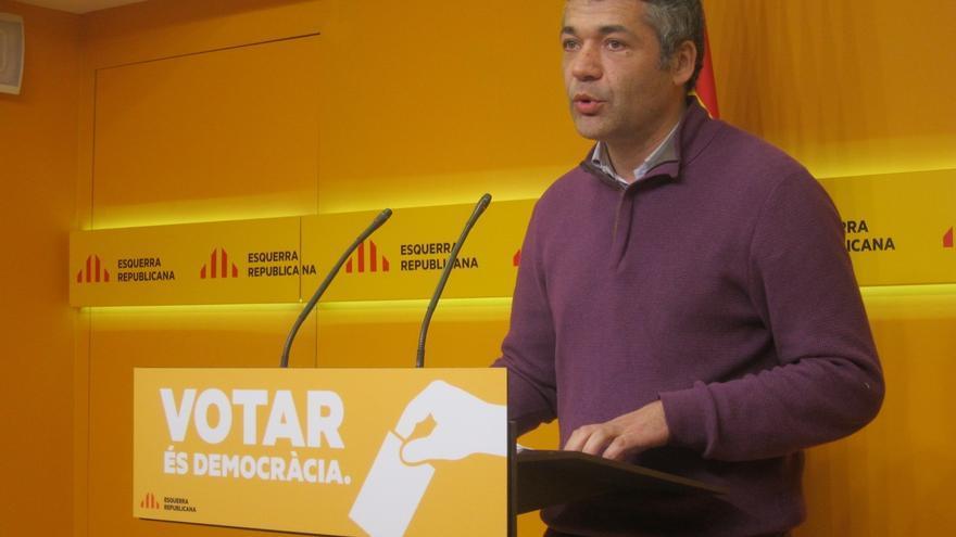 """ERC censura que el Gobierno de Rajoy """"no hace nada para favorecer la paz"""" en Euskadi"""