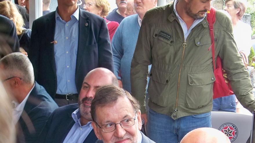 Rajoy acude a Avión, uno de los pueblos de España que más apoya al PP, para pedir revalidar el voto a Feijóo