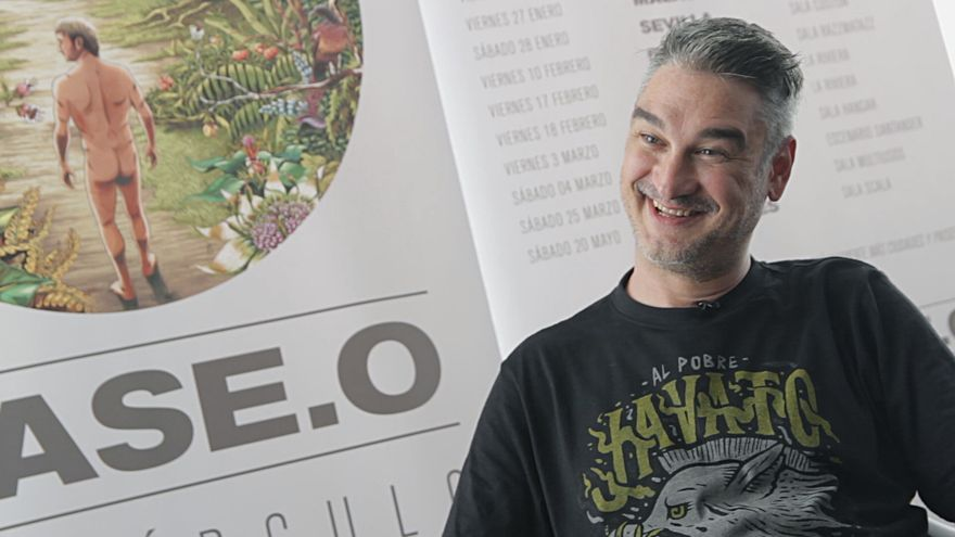 KaseO en entrevista con eldiario.es/ Foto: David Conde