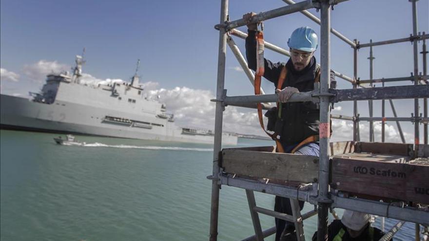 La Armada de EE.UU., satisfecha con Navantia en el mantenimiento de destructores