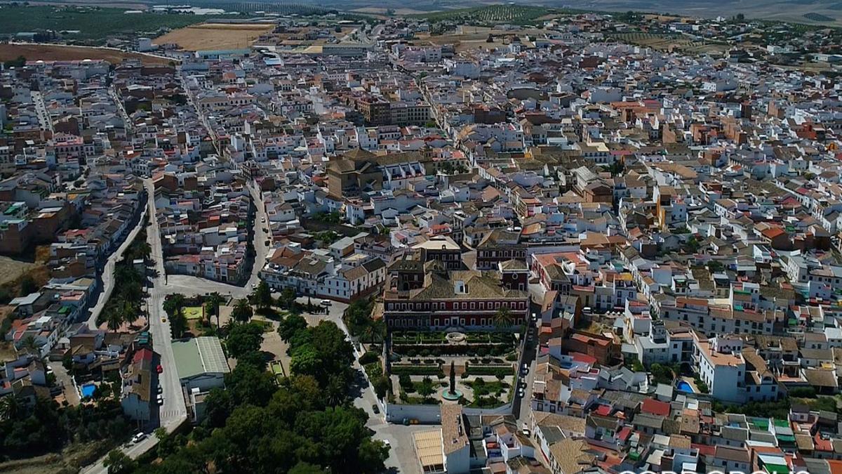 Vista aérea de Fernán Núñez