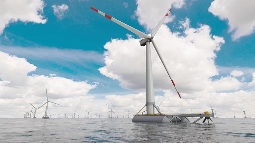 Noruega quiere invertir en una planta flotante de energía eólica en Canarias