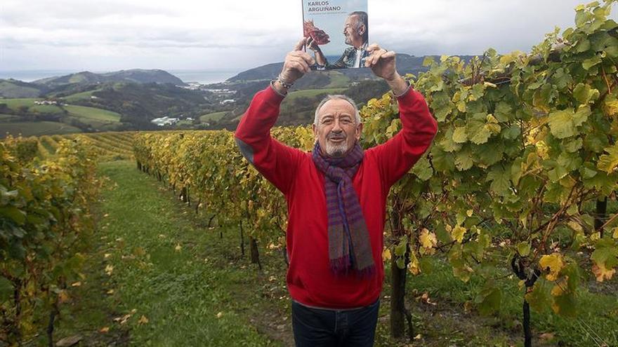 """Arguiñano homenajea en su nuevo libro a los """"sabores y aromas de siempre"""""""