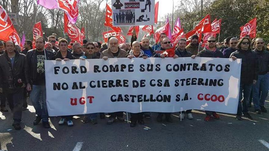 Los 200 trabajadores que deja en el paro el cierre de CSA en Torrejón para la sección de Madrid