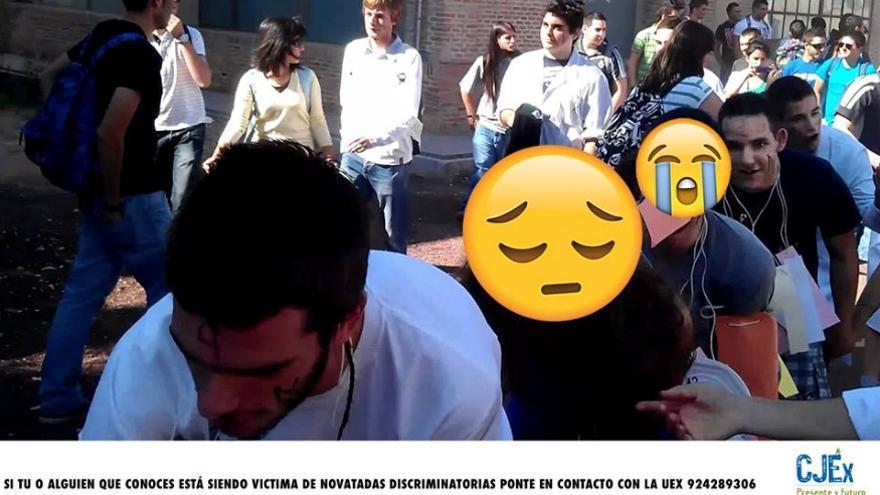 Campaña en redes del Consejo de la Juventud de Extremadura, para poner freno a las novatadas discriminatorias