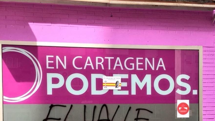 Sede de Podemos en Cartagena