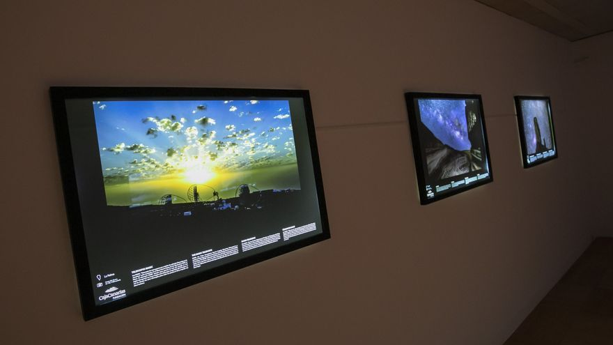 'Cosmoislas' abre su ventana expositiva al Universo desde el Espacio Cultural CajaCanarias de Santa Cruz de Tenerife
