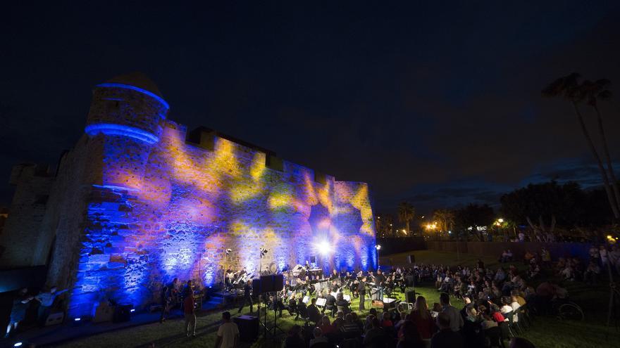 Banda Sinfónica Municipal de Música en el Castillo de La Luz