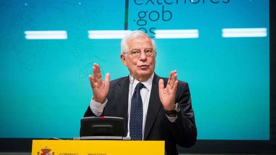 "Borrell celebra la ""gran noticia"" de oferta de diálogo de Marruecos a Argelia"