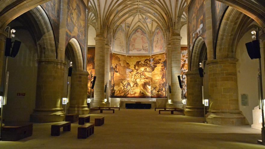 Un disparo fortuito de un ertzaina daña un lienzo por valor de 1 millón de euros del Museo San Telmo de San Sebastián