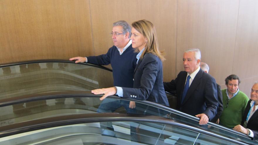 """Cospedal, a los miembros del PP, sobre Bárcenas: """"Quien la hace, la paga, quedaos bien tranquilos"""