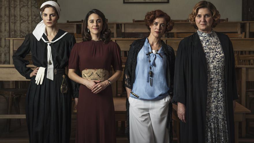 Las profesoras de 'La otra mirada' en la temporada 2