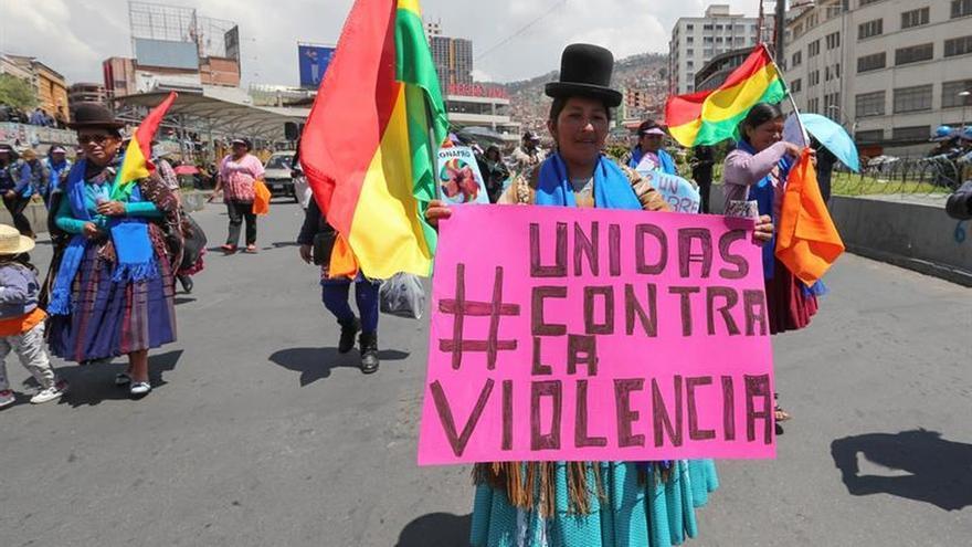 La violencia machista no da tregua a las bolivianas en 2018