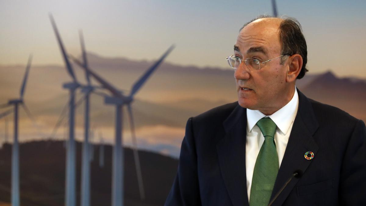 El presidente de la compañía eléctrica Iberdrola, Ignacio Galán. EFE/LUIS TEJIDO/Archivo