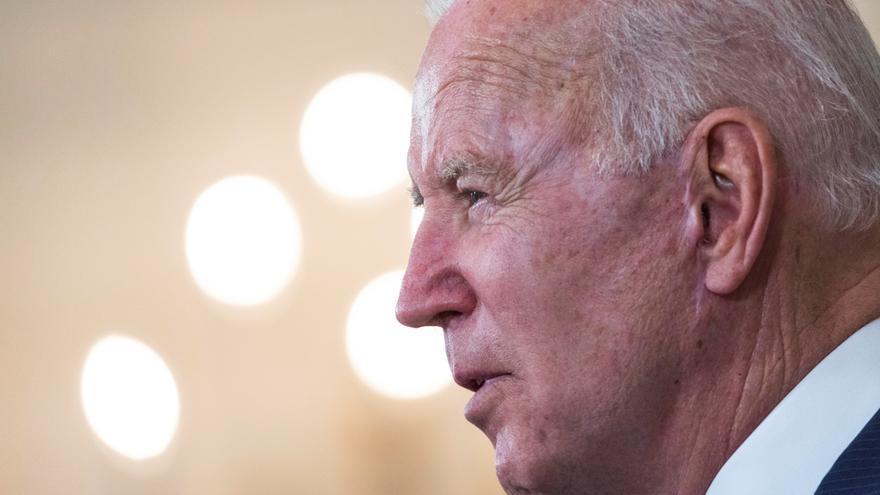 El presidente de Estados Unidos, Joe Biden, en la Casa Blanca este miércoles.